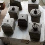 窯焚きに向けて、燃料となる薪の準備が始まりました